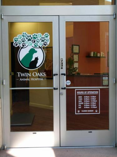 Welcome to Twin Oaks Animal Hospital! We are a single doctor practice located in San Marcos.